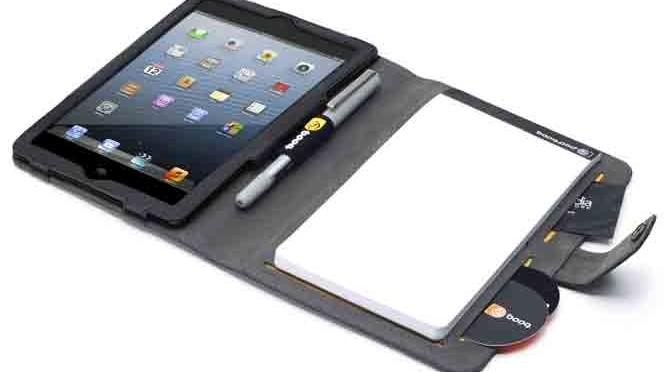 Booqpad Mini – die iPad Hülle für den Geschäftsalltag