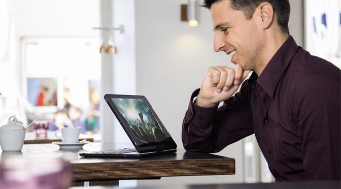 """Neue """"Key2Go""""-Tastaturen von Hama erleichtern das Arbeiten am Tablet"""