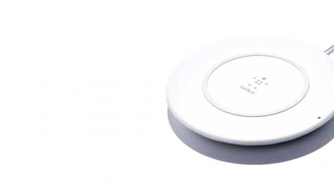 Belkin Boost-Up lädt iPhone drahtlos