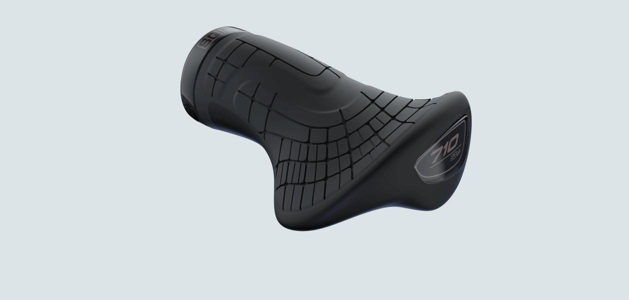 Ergonomische Griffe für das Fahrrad: SQlab Griff 710 short