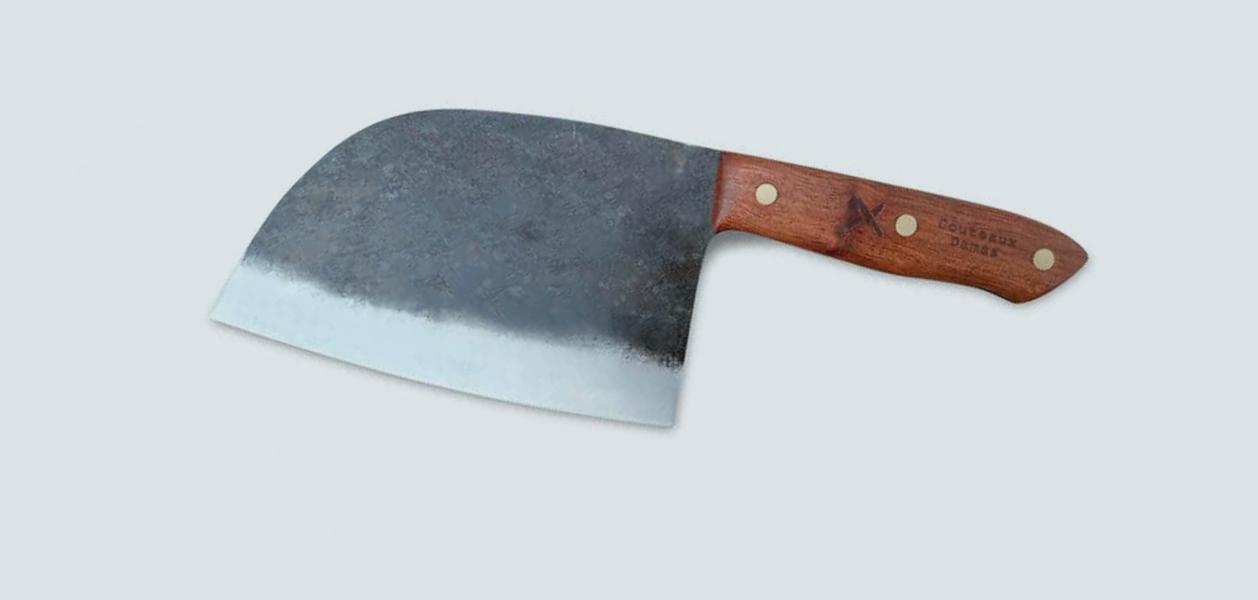 Damast-Messer - das Chefmesser und das serbische Messer