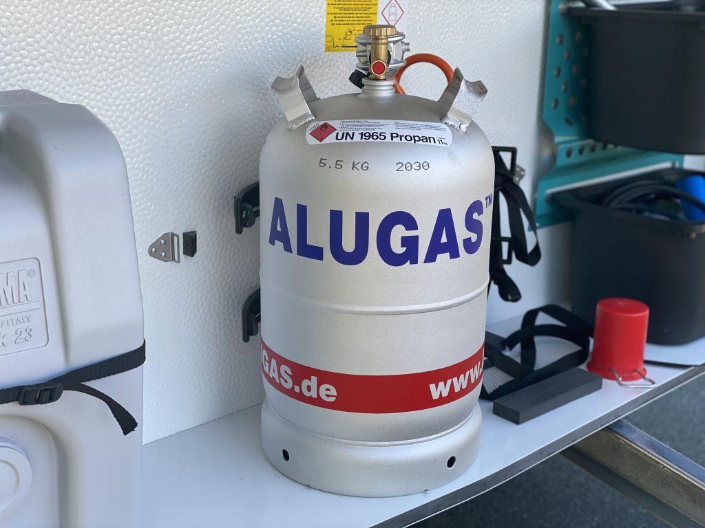 Alugas Gasflasche