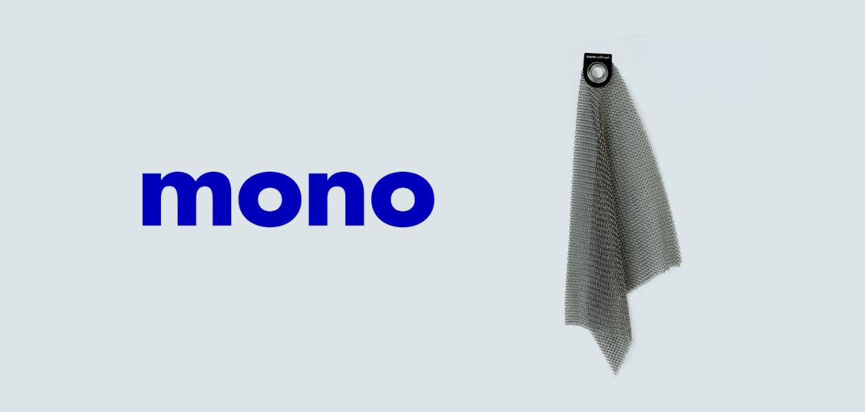 Mono Softmesh Reinigungsgewebe - Reinigung von Pfannen und Grillrosten