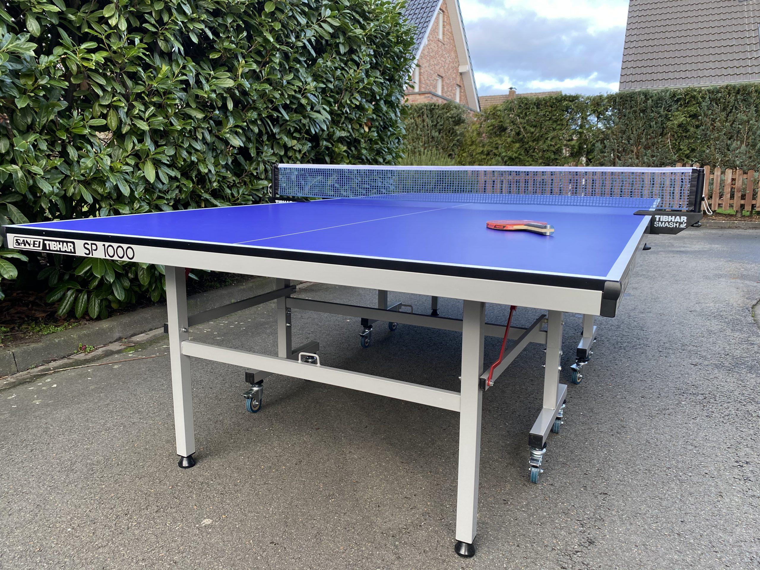 Tischtennisplatte San-Ei / Tibhar SP 1000 für Zuhause
