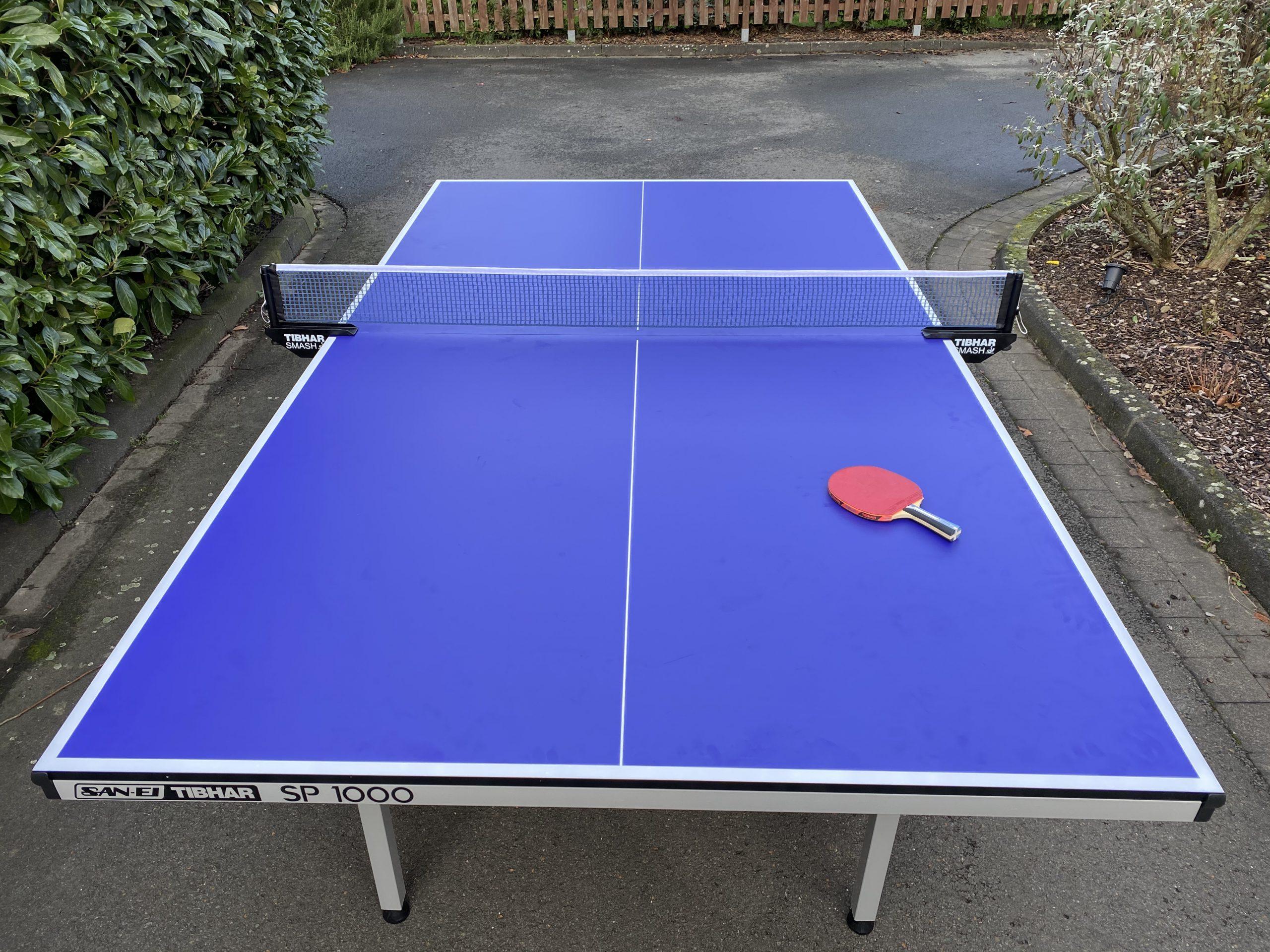 Tischtennisplatte San-Ei / Tibhar SP 1000 für Einsteiger