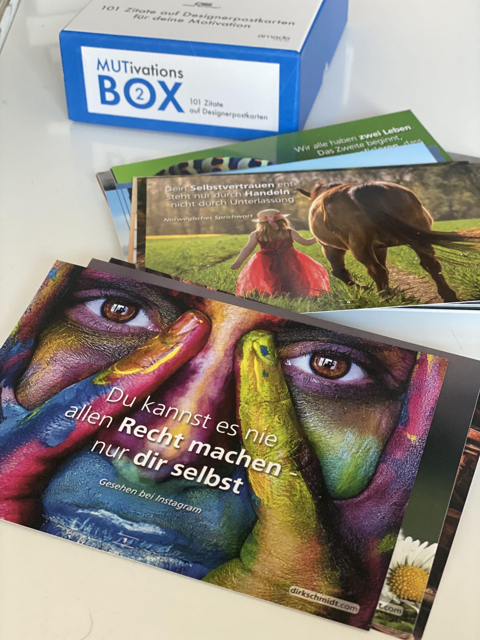 Postkarten die Mut machen - MUTIVATIONSBOX 2
