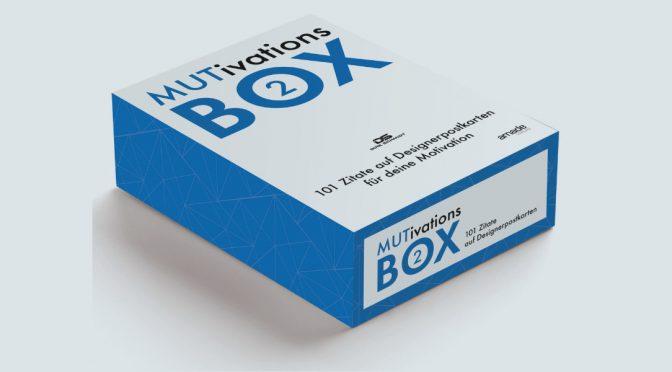 MUTivationsbox 2 – 101 Zitate in Postkartenformat
