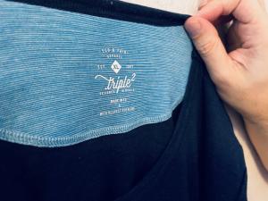 Triple2 Logo - nachhaltiges Shirt