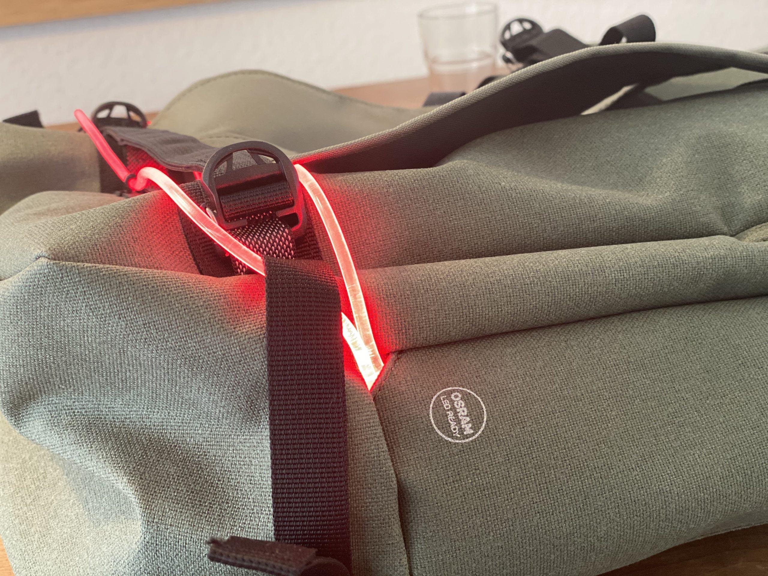 OSRAM LED im Rucksack - Rucksacklicht