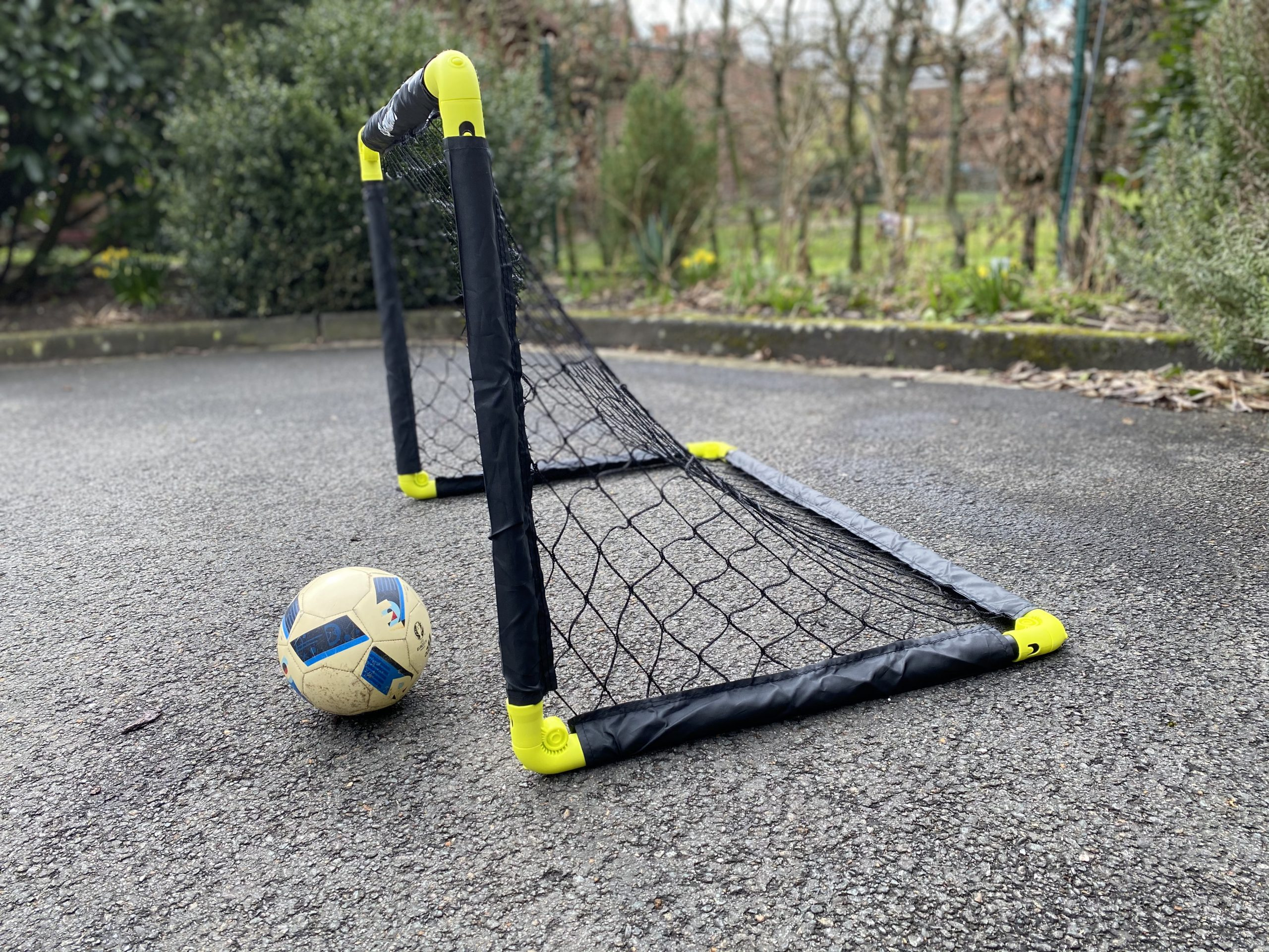 Tor für Fußball und Hockey - faltbar