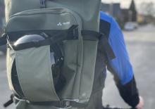 VAUDE ExCycling Pack - Fahrradrucksack mit Osram LED