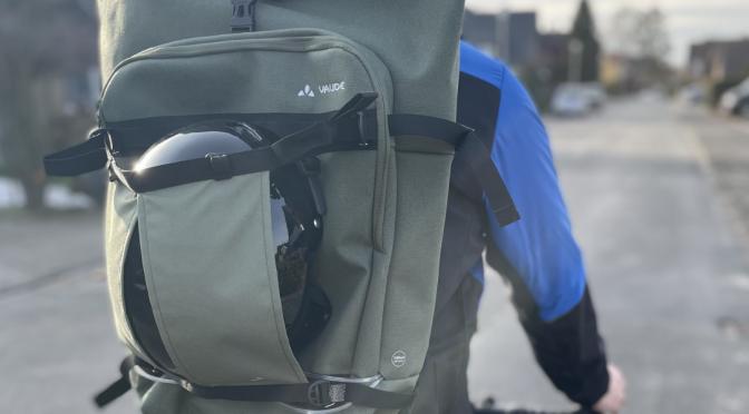 VAUDE ExCycling Pack – Fahrradrucksack mit Osram LED
