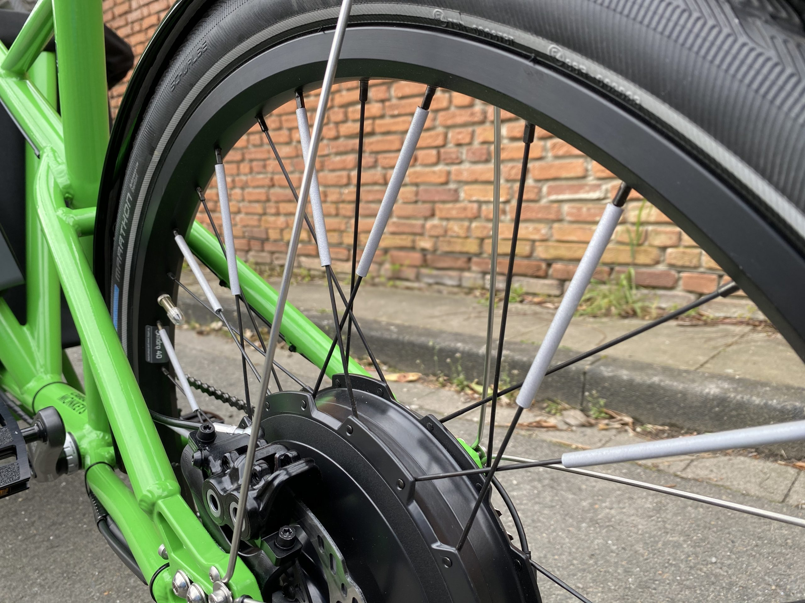 Flex Clips Reflektoren für das Fahrrad