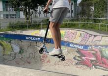 Stunt Scooter 360 Pro - ein leichter Scooter von Hudora