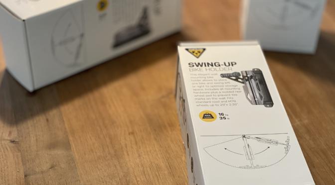 Topeak Swing-Up Holder: Sichere Fahrradhalterung zur Wandmontage
