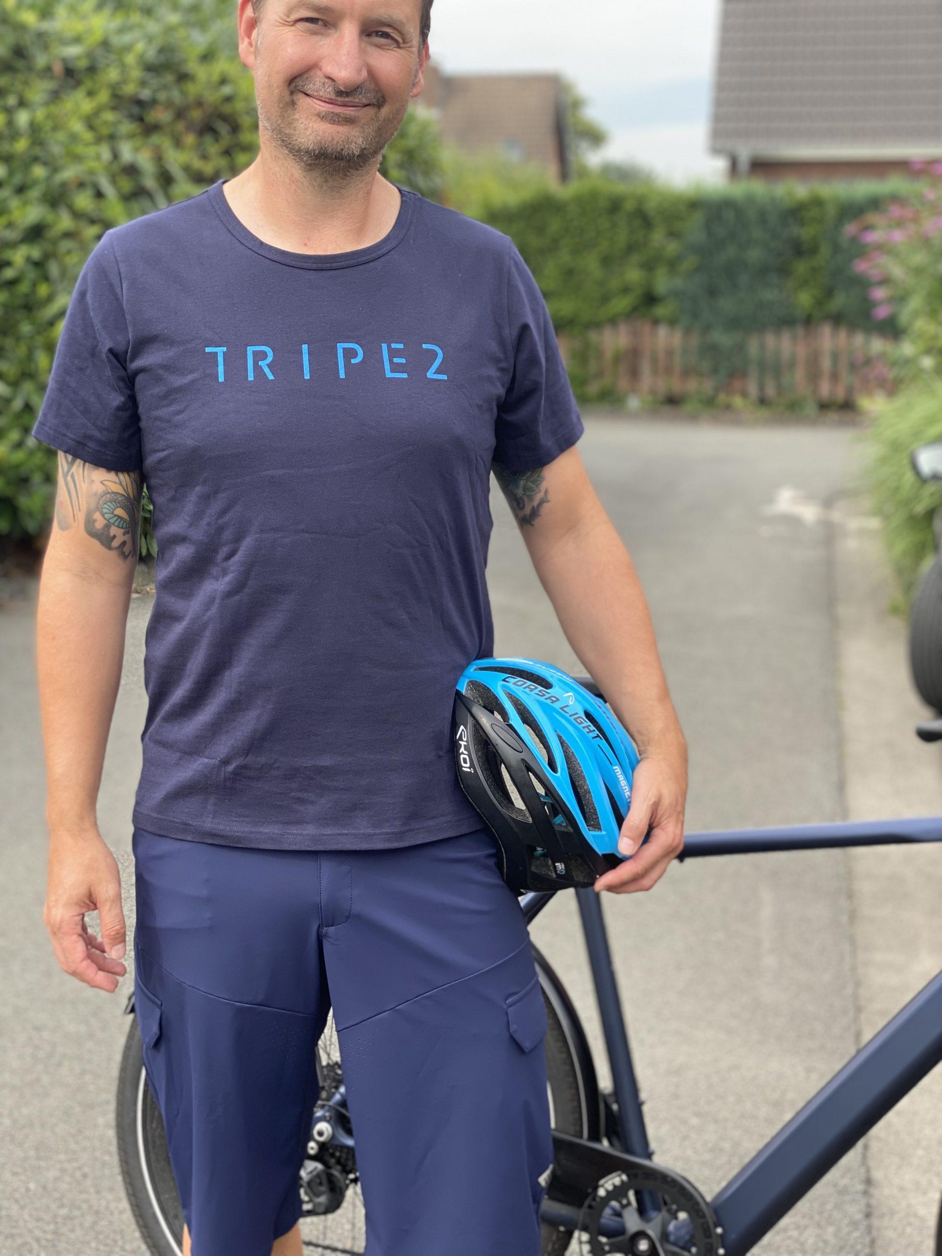 Triple2 - nachhaltige Sportkleidung für Radfahrer