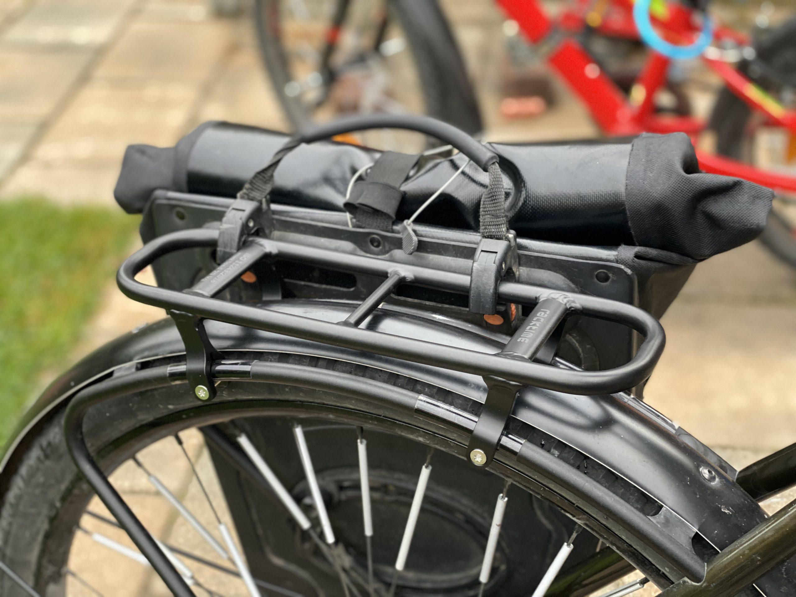 Coboc Racktop mit Fahrradtasche