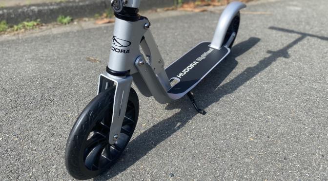 HUDORA BigWheel® Crossover 205 – sportlicher Scooter für den Alltag